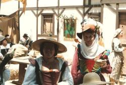 Kage Baker and Kathleen Bartholomew, circa 1985